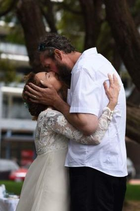 Happily married by Perth celebrant Ishara de Garis
