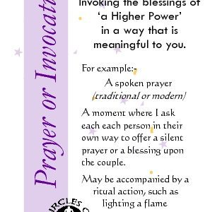 Prayer or Invocation