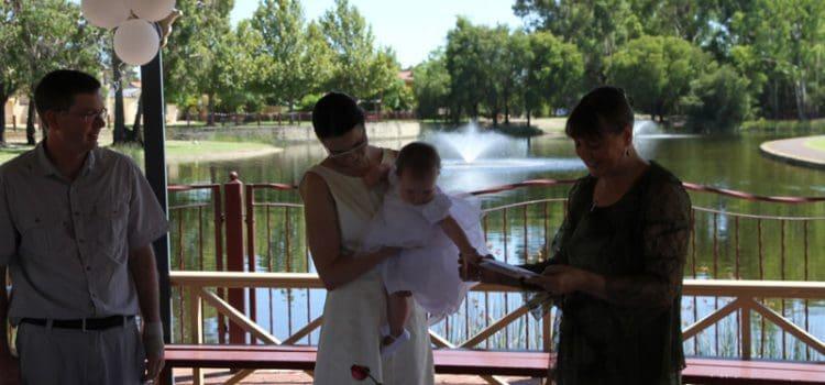 Naming ceremony incorporating Unitarian Universalist blessing/dedication