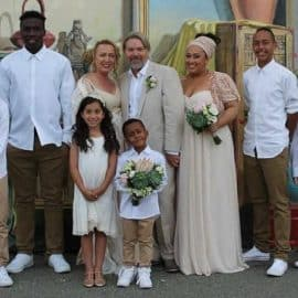 A family wedding in South Fremantle with Perth celebrant Ishara