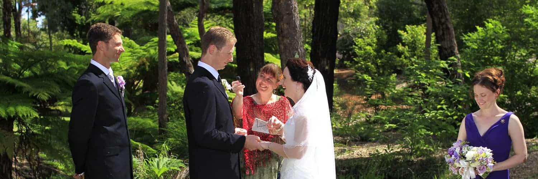 Wedding at Araluen Botanic Gardens, Perth WA
