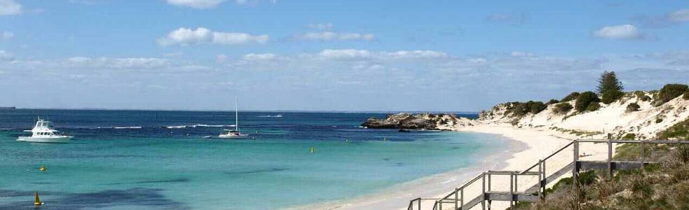 Get married on a beach at Rottnest Island with civil marriage celebrant Perth WA Ishara de Garis