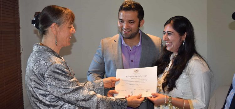 Ex-patriot Indians choose a non-traditional wedding in Australia