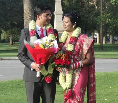 Perth marriage for a traditional Indian couple – Sikh & Christian intermarriage