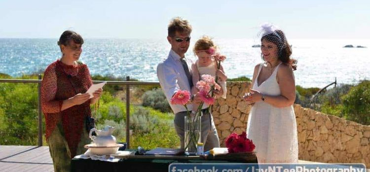 Tenth Anniversary Renewal of Vows at Burns Beach