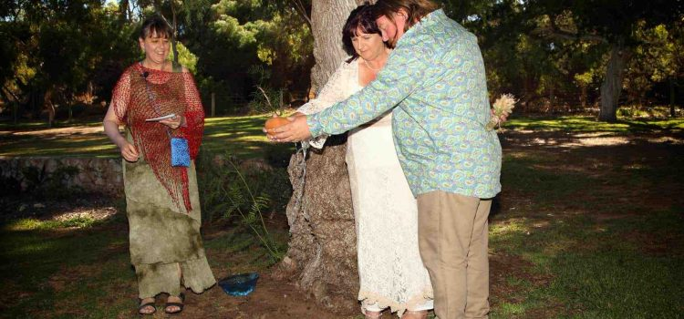 Wedding in Manning Park (near Fremantle)
