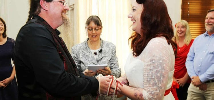 Married at the Trade Winds Hotel in Fremantle WA
