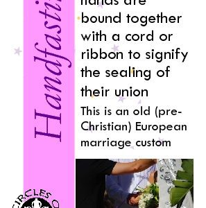 Handfasting with Ribbons or Cords