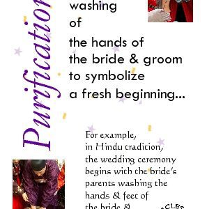 Hand washing or another ritual purification